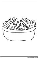 Ostereier als Ausmalbild   Malvorlagen zu Ostern