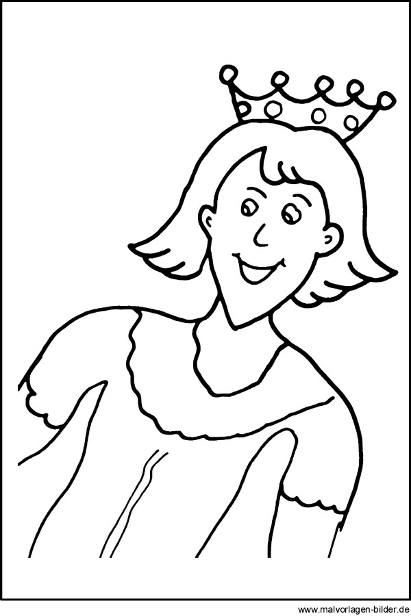Kostenlose Malvorlage Von Einem Prinz Gratis Windowcolor