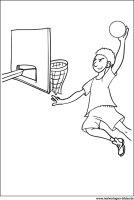 Basketball – Ausmalbilder zum Ausdrucken