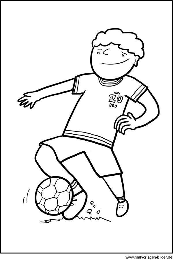 GRATIS AUSMALBILDER FUßBALL - Ausmalbilder