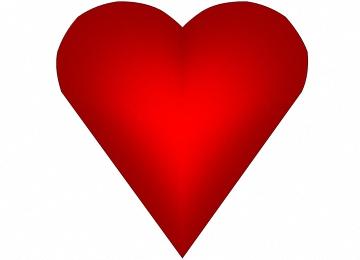 Herz Zum Ausdrucken Pdf  Liebeskarten Zum Ausdrucken Und