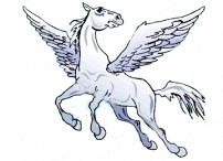 Ausmalbilder Pegasus