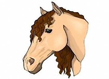 Malvorlagen Pferdekopf Ausdrucken