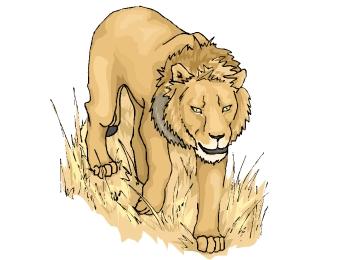 Malvorlagen Löwe