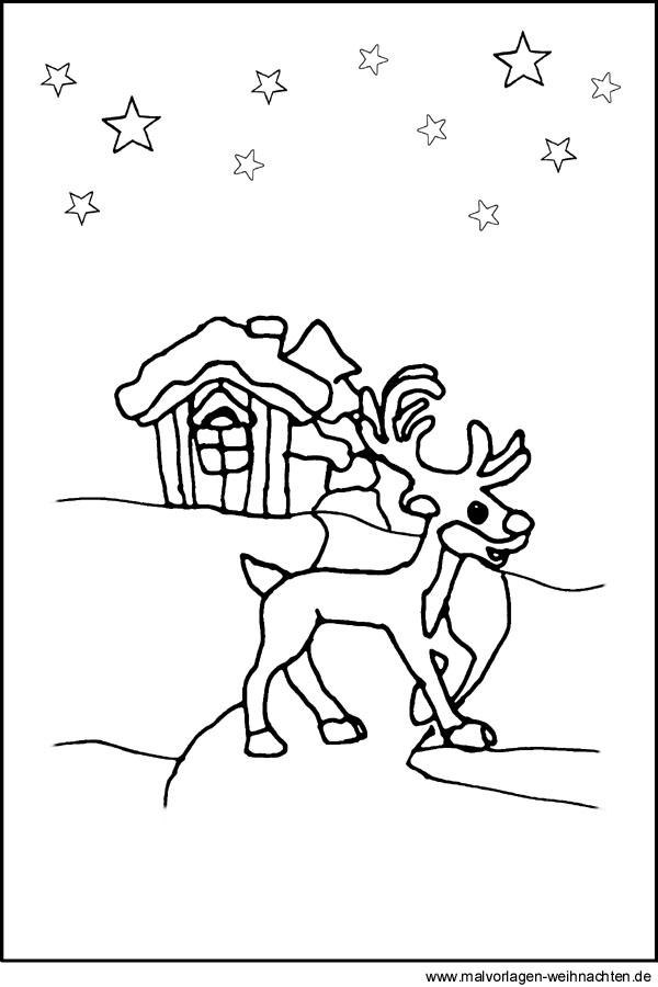 Kostenlose Malvorlage Weihnachten Zwei Glocken Zur