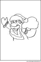Fensterbild Weihnachtsmann   Kostenlose Motive und ...