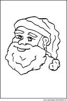 Weihnachtsmann   Fensterbilder und Window Color Bilder zu ...