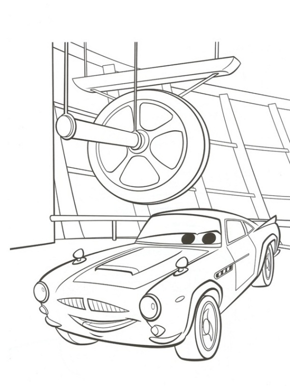 Cars 2 Malvorlagen - Malvorlagen1001