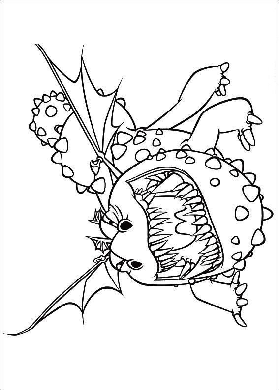Drachenzahmen leicht gemacht Malvorlagen - Malvorlagen1001