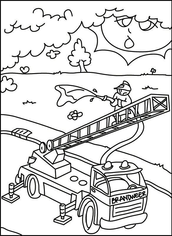 Feuerwehr Malvorlagen - Malvorlagen1001