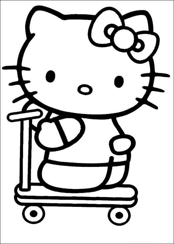 Hello kitty Malvorlagen - Malvorlagen1001
