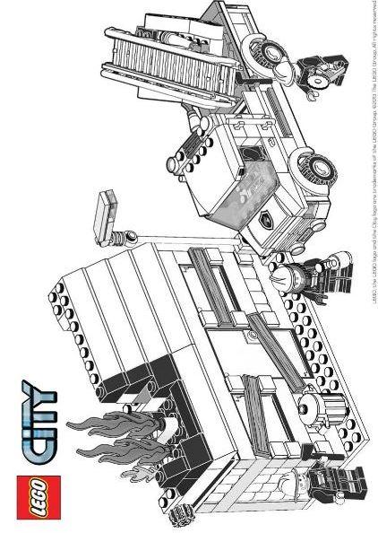 Lego city Malvorlagen - Malvorlagen1001
