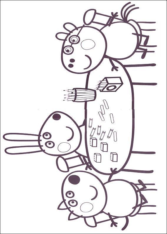 Peppa wutz Malvorlagen - Malvorlagen1001