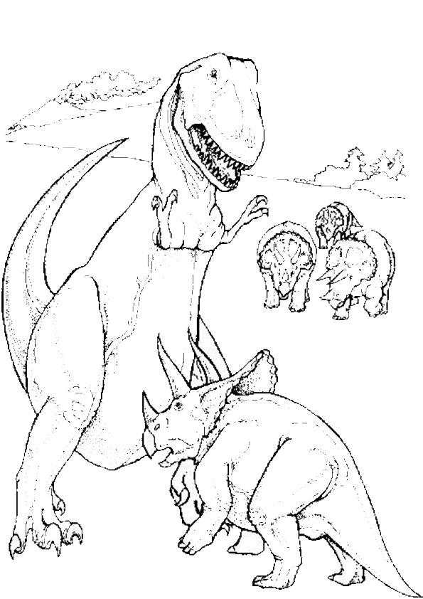 Malvorlagen Dinosaurier-17 Malvorlagen Gratis