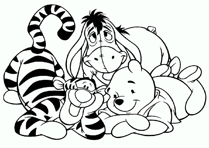 Malvorlagen Winnie the pooh-18 Malvorlagen Gratis
