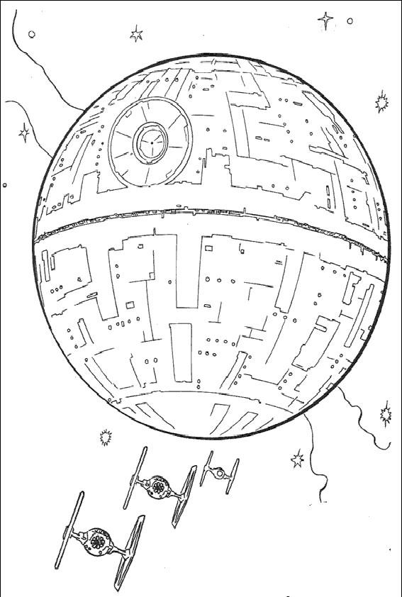 Malvorlagen gratis Star Wars-7 Malvorlagen Gratis