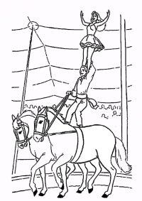 malvorlagen gratis zirkus-6 | Malvorlagen Gratis