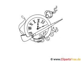 Zeichenvorlagen Uhr