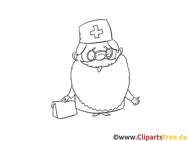 Arzt Malvorlage