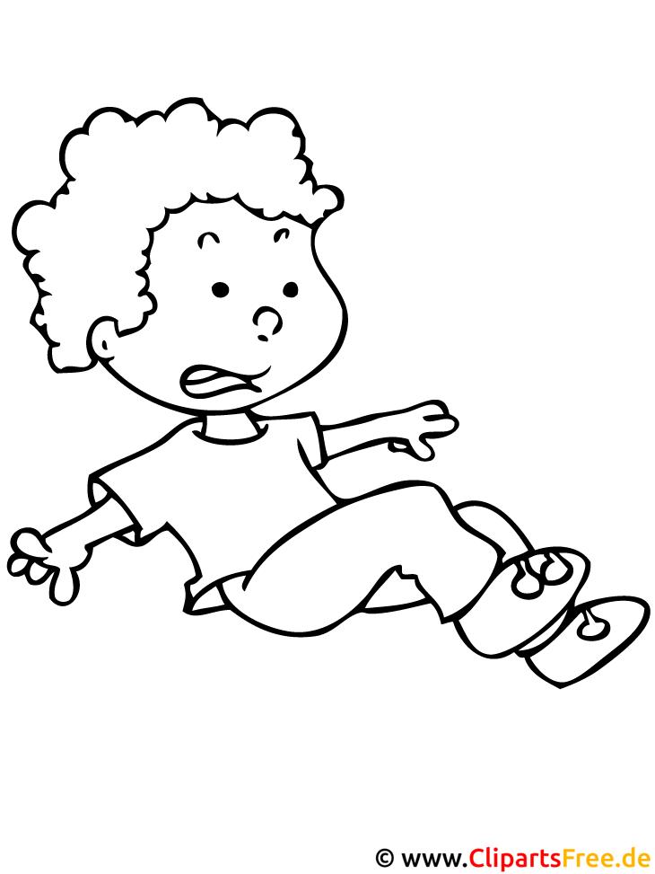 Kind Ausmalbild