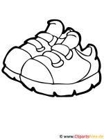 Schuhe Ausmalbild   Ausmalbilder kostenlos