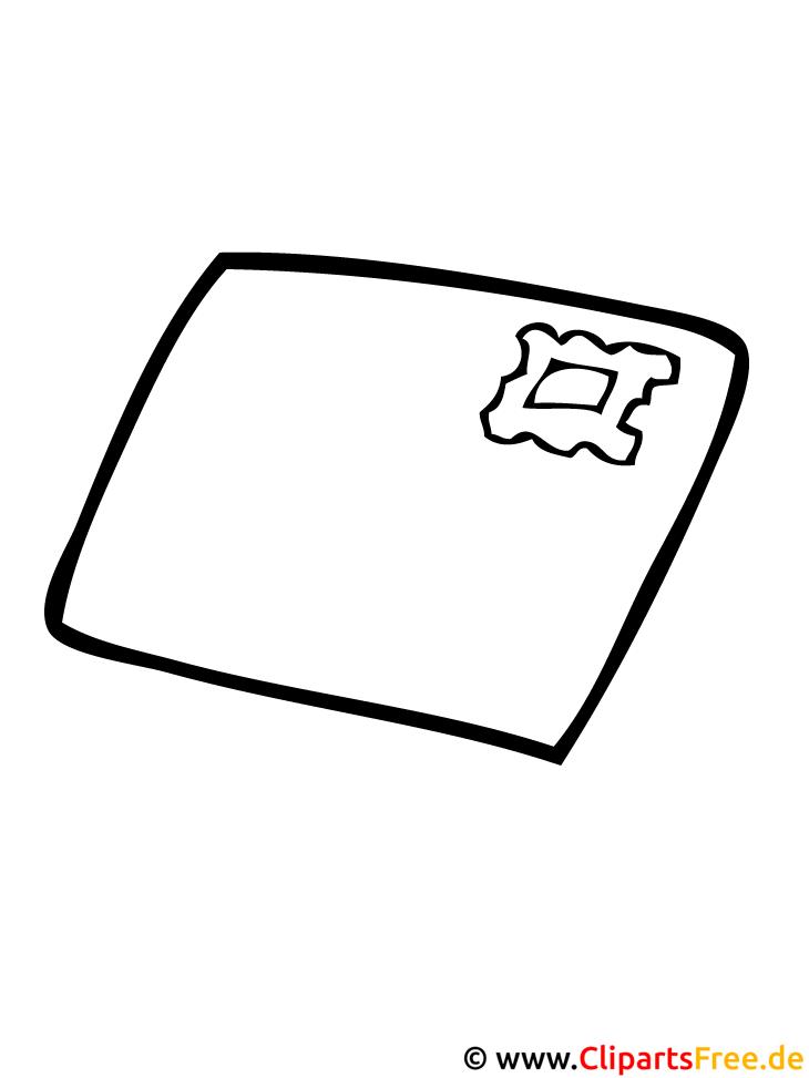 Brief Bild   Malvorlagen ausmalen kostenlos