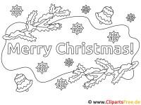 Ausmalbilder Weihnachten kostenlos Ausdrucken