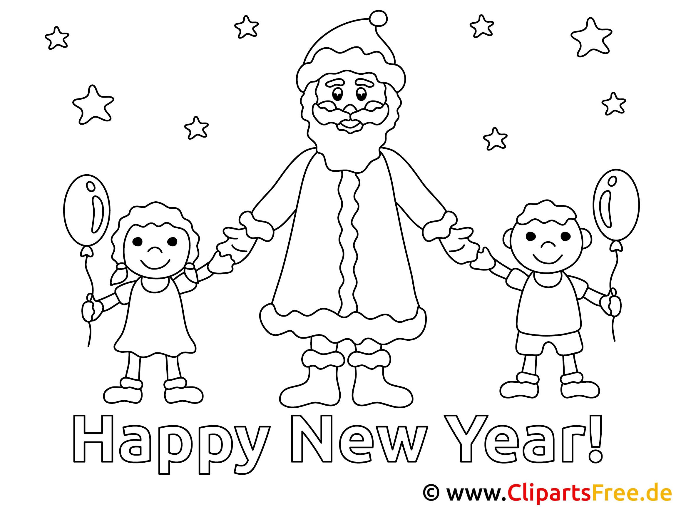 Kinder malen Weihnachten