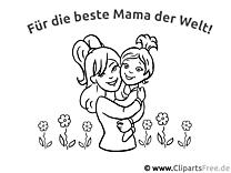 66+ Muttertag Ausmalbilder kostenlos zum Ausdrucken