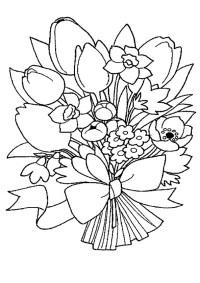 Ausmalbilder Blumen Kostenlos Zum Ausdrucken Ausmalbilder