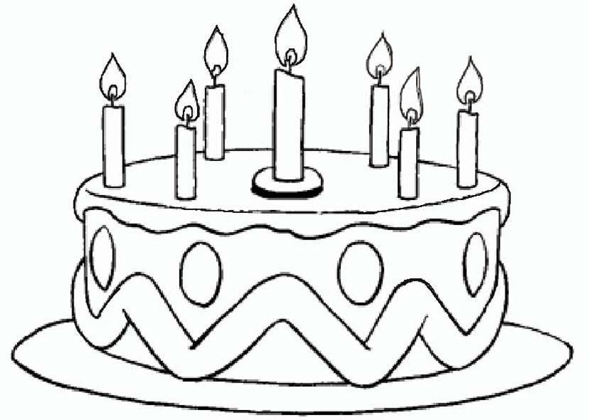 Malvorlagen Geburtstag 6  Malvorlagen Kostenlos