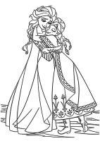 Malvorlagen kostenlos Eiskönigin 2   Malvorlagen Kostenlos