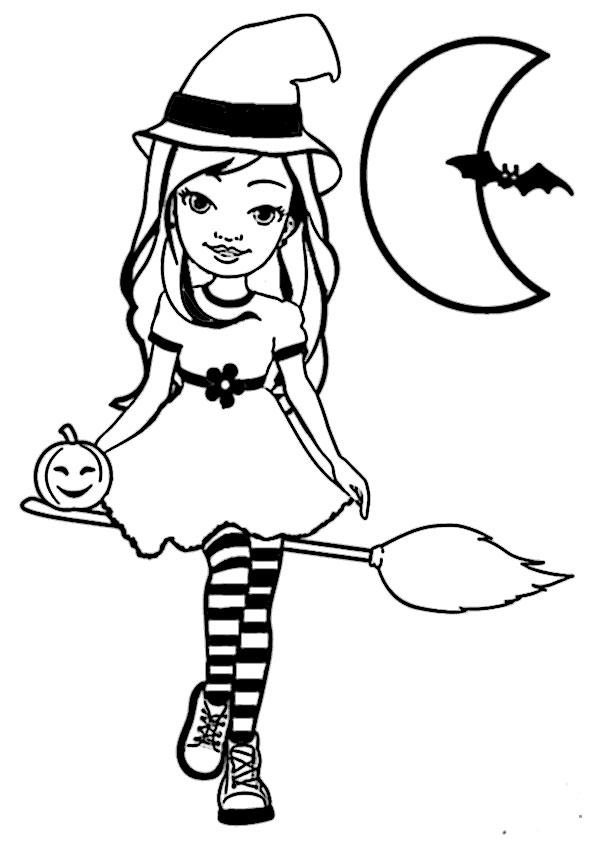 Halloween-16 Malvorlagen Kostenlos