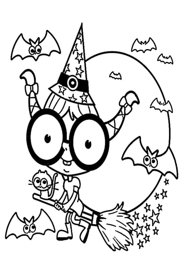 Halloween-27 Malvorlagen Kostenlos