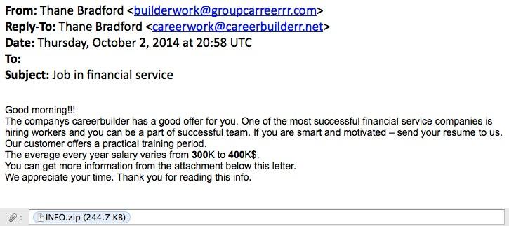 Career Builder Resume