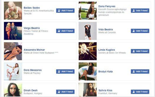 Check the Friend List - Spot Fake Facebook Account