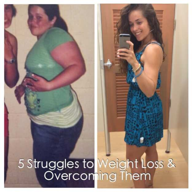 5 Struggles to Weight Loss & How to Overcome Them