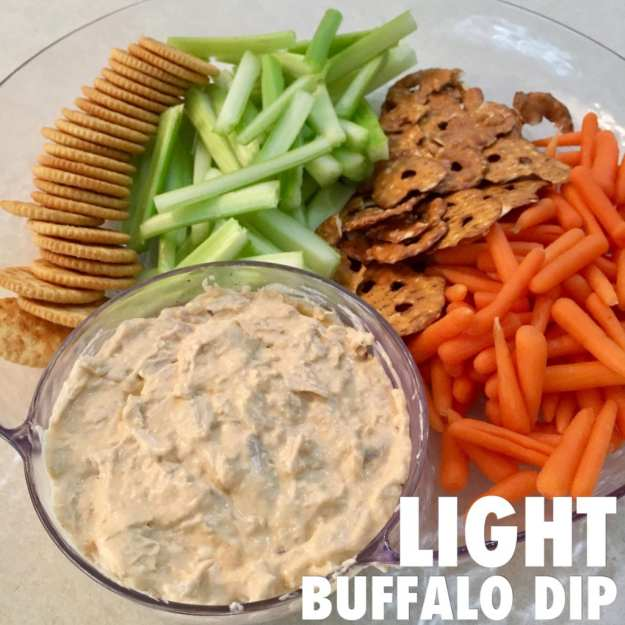 macro-friendly light buffalo dip for iifym
