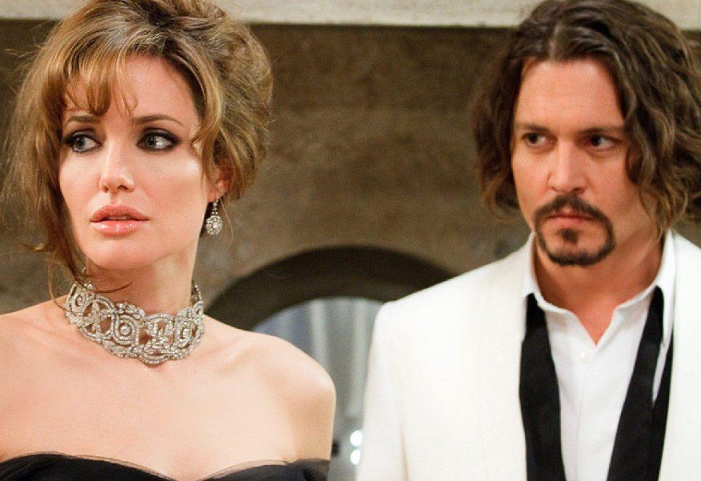 Altro che Depp: Angelina Jolie sul set di The Tourist rapita da Raul Bova