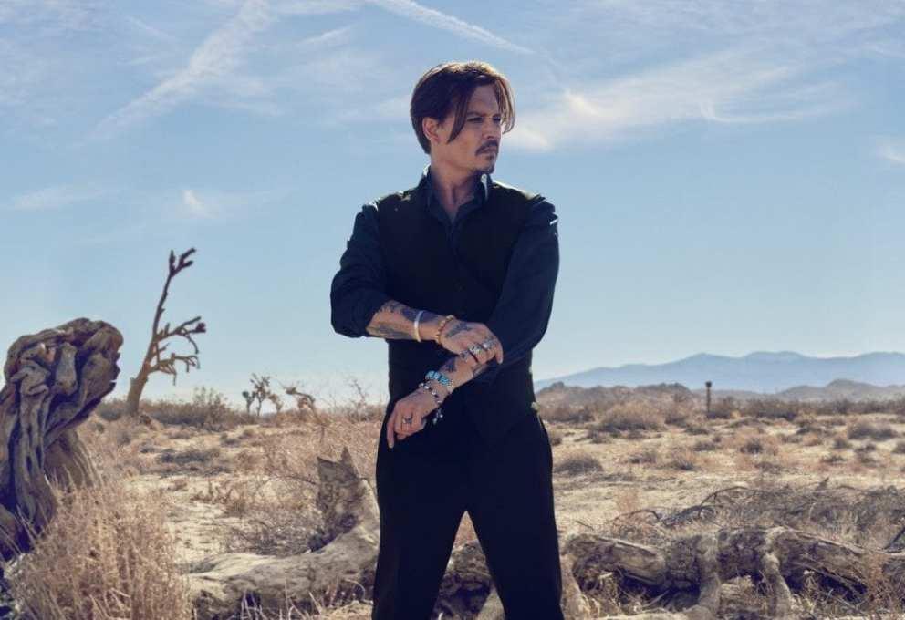 Johnny Depp testimonial del profumo Sauvage di Dior