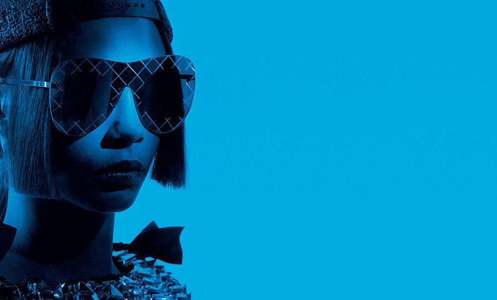 La campagna Eyewear Spring/Summer 2016 Chanel