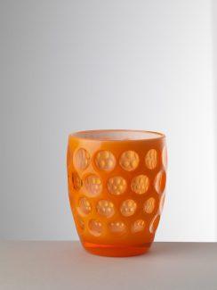Bicchiere Lente in cristallo sintetico, Mario Luca Giusti