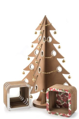 Natale: albero Lessmore, Ecodesign Collection