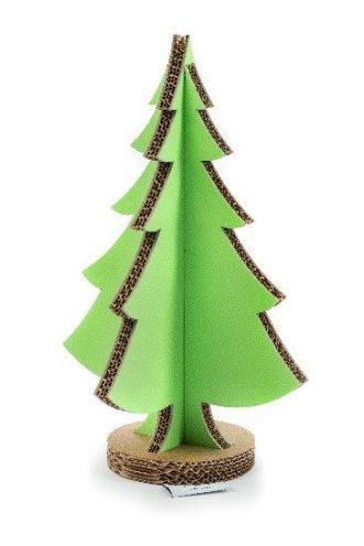 Natale: albero Lessmore, colorato