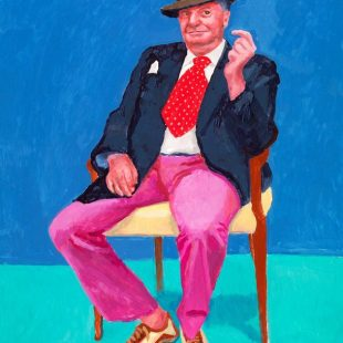 Arte: i ritratti di david hockney in mostra a venezia. Autoritratto