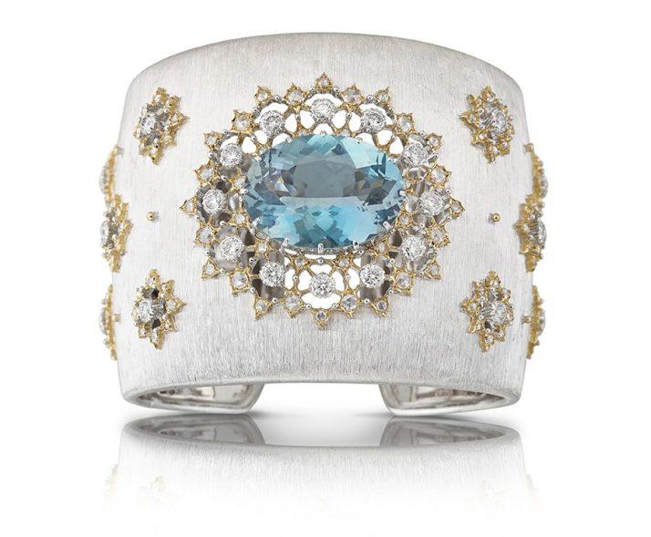 """Lifestyle: Buccellati, la nuova collezione haute couture. Il bracciale cuff """"Oasi"""""""