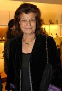 Mame Moda Addio a Fulvia Ferragamo, la signora della seta. Fulvia Ferragamo Visconti