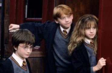 mame cinema HARRY POTTER E LA PIETRA FILOSOFALE - STASERA IN TV trio