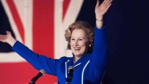 mame cinema THE IRON LADY - STASERA IN TV IL CELEBRE BIOPIC scena