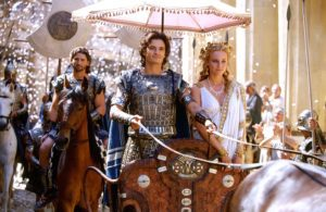 mame cinema TROY - STASERA IN TV IL FILM EPICO troia